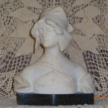 Marble bust...is she RUTH?