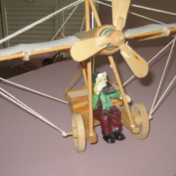 wooden plane - Toys