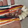 Statements necklace wooden bone?