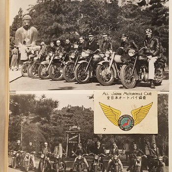 1950s AJMC - All Japan Motorcycle Club Memorabilia  - Motorcycles