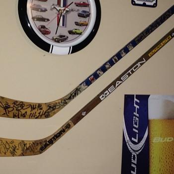 Signed Hockey Sticks - Hockey