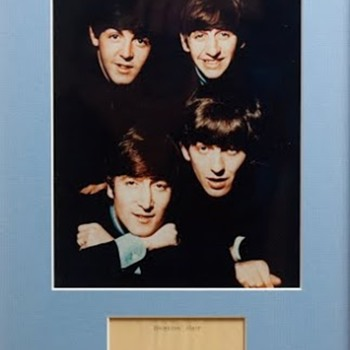 Beatles Hair-Sotheby's-1982 - Music Memorabilia