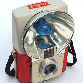 Coca-Cola Brownie Starflash - Cameras