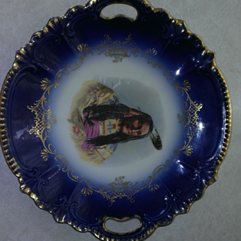 not sure how old or who made it - China and Dinnerware