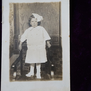 1912 Real Photo Postcard