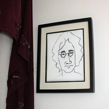 Ceramic Mug And of course, the late great John Lennon! - Fine Art