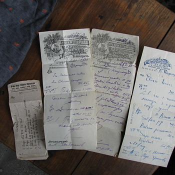 Three Medical Prescriptions from the 30s