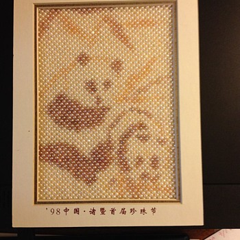 Pearl Panda with baby  Picture  - Asian