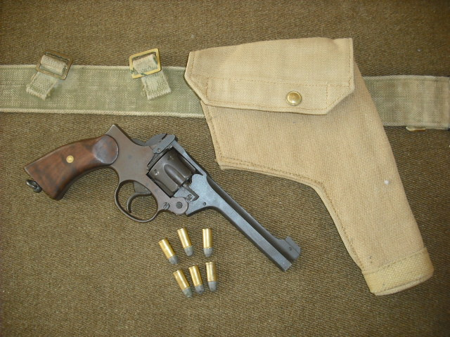 WWII British Enfield Revolver | Collectors Weekly