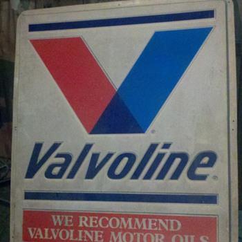 Vintage Valvoline Sign - Signs