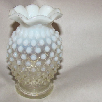 Hobnail what?   - Glassware