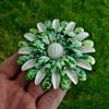 Enamel Flower Power Brooch