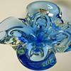 "Canadian Art Glass Ashtray""Lorraine"" Circa 1960-70"