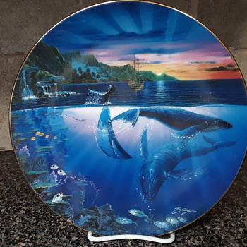 Rhapsody of Hope ocean plate  - China and Dinnerware