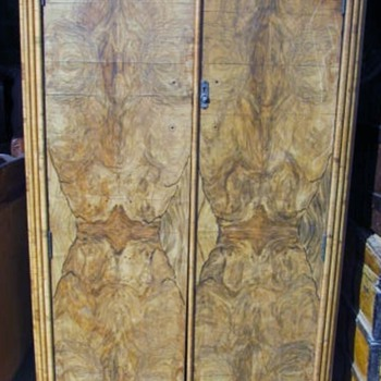OLD CAMPHOR WOOD WARDROBE CLOSET #2