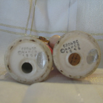 Christmas Salt and Pepper Shakers 1956 - Christmas