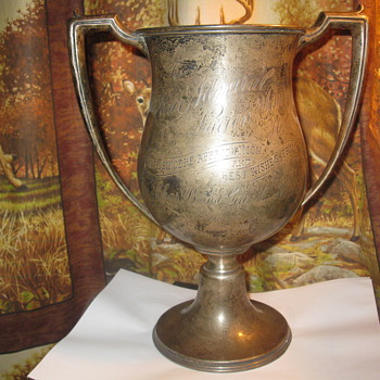 Sterling Silver Cup - Silver
