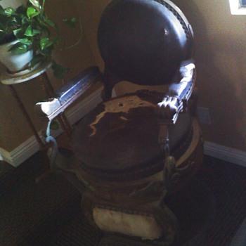 Late 1800's Koken Barber chair - Furniture