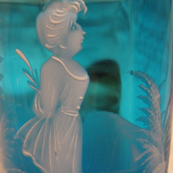 Mary Gregory glass - Art Glass