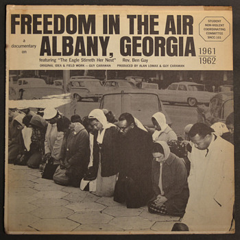 SNCC record - FREEDOM IN THE AIR - Records