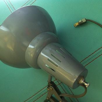 Luxo gray lamp. - Lamps