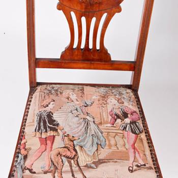 Antique Salon Chair - Eastlake Inspired - Furniture