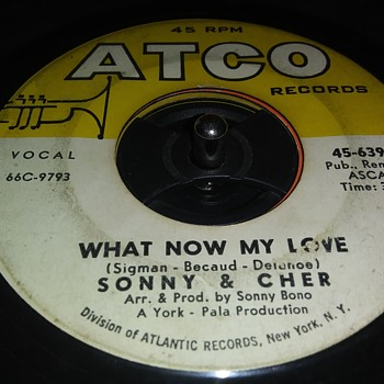 45 RPM SINGLE....#113 - Records