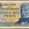 Argentina - (5000) Pesos Bank Note