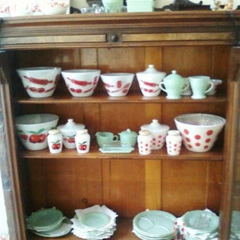 Some of my Fire King - China and Dinnerware