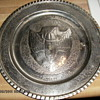 Wheelus Air Force Base Silver Plate 1956 - 58 7272nd Supply SQDN