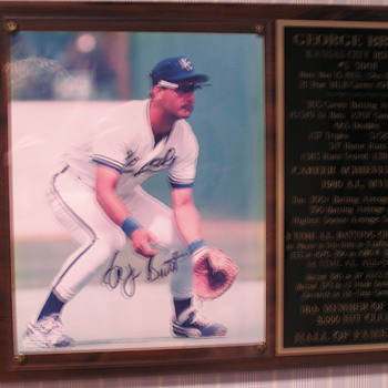 George Brett Autographed Photo