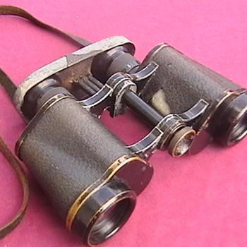 WW I German Reichmarine Binoculars - Military and Wartime