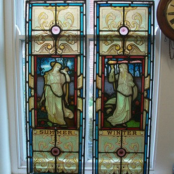 Stain Glass windows circa 1870