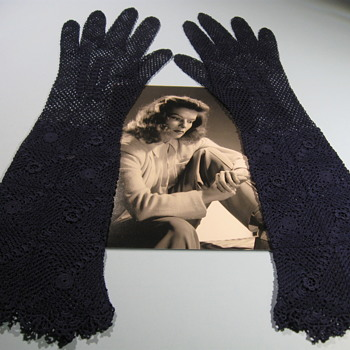 Katharine Hepburn  .  .  .  Personal Gloves - Movies