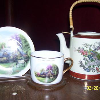 sathuma japan /tea sever/tom kINKADE - China and Dinnerware