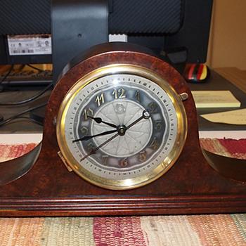 1929 Herman Miller Tambour Clock, Model 4010