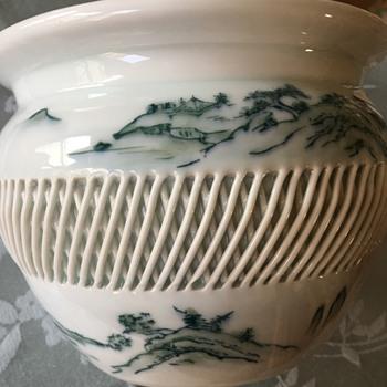 HELP! IMARI planter - Pottery