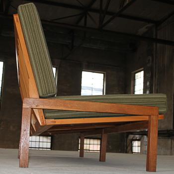 vintage 50s minimalistic design sofa - KNOLL ANTIMOTT? - Mid-Century Modern