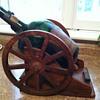 Wagon wheel Cognac bottle