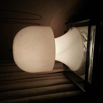 mushroom table lamp  - Lamps