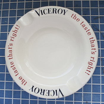Viceroy Ashtray - Tobacciana