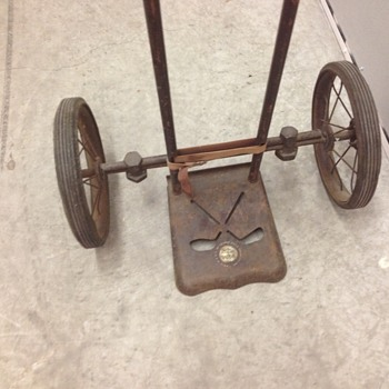 Vintage Master Caddie pull golf cart - Sporting Goods