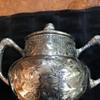 Barbour Silverplate Tea Set in Eastlake style