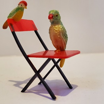 Tiny Chair Sitters.  - Animals