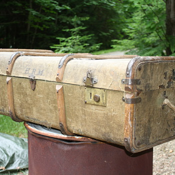 Another Bent Wood Suitcase - Bags