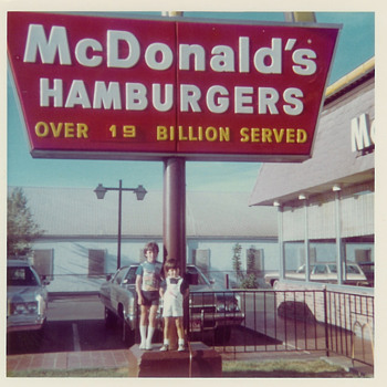 Mid 1970's McDonalds 19 Billion Served - Photographs