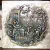 Metal Plate decorated with classical artwork