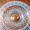 "My 9"" French opalescent 3 row open edge Fenton plate"