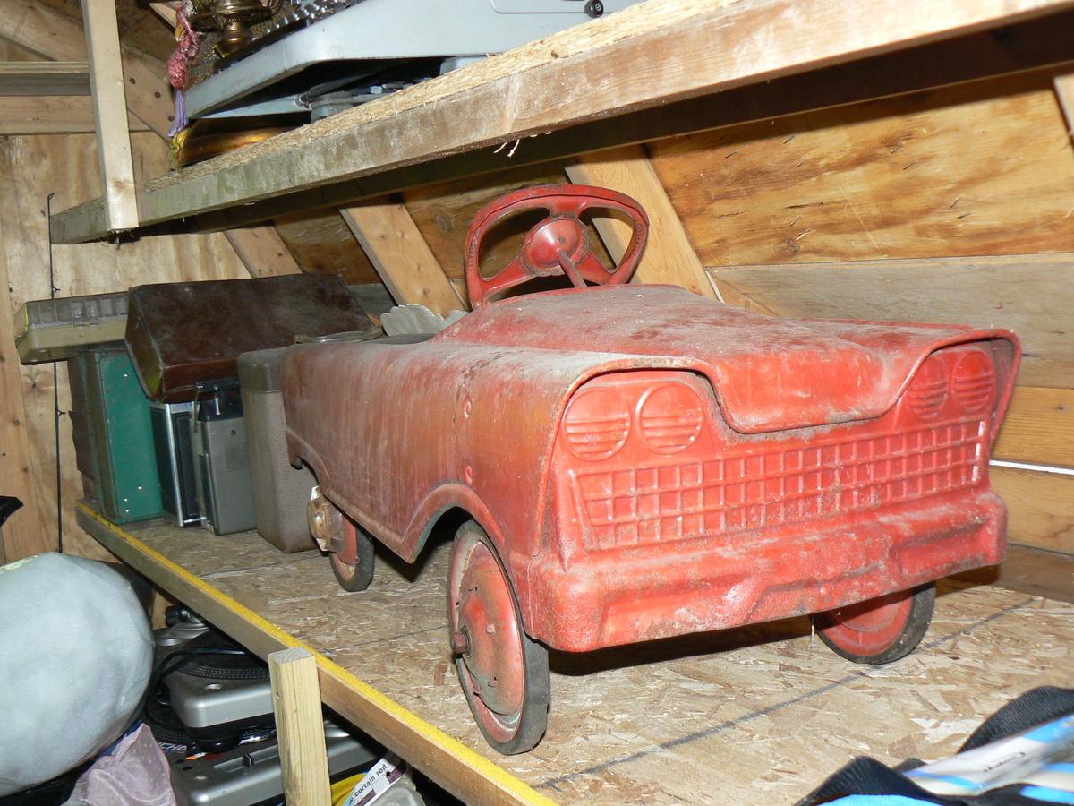 Vintage Pedal Car - Unknown | Collectors Weekly