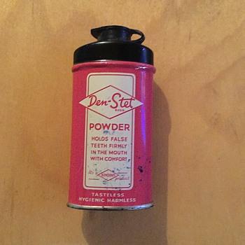 Denture powder